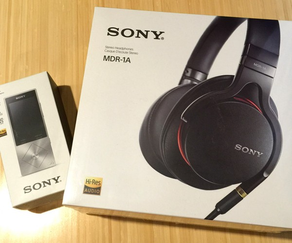 Review: Sony Hi-Res Audio MDR-1A Headphones & Walkman NWZ-A17 Audio Player