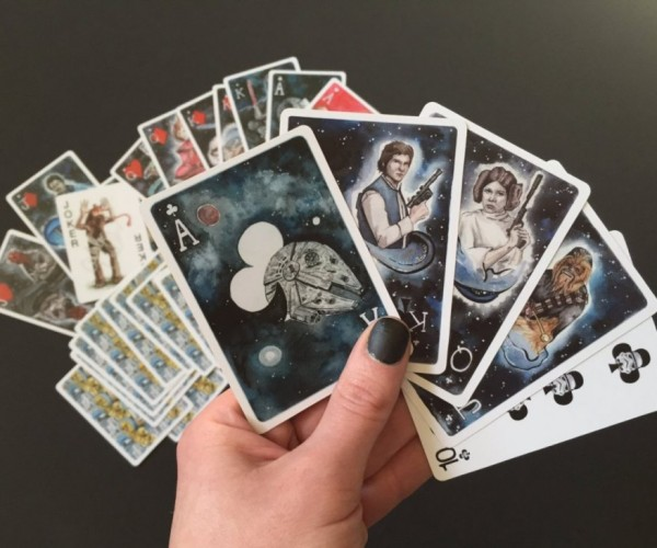 Custom Star Wars Playing Cards: May the Full House Be with You