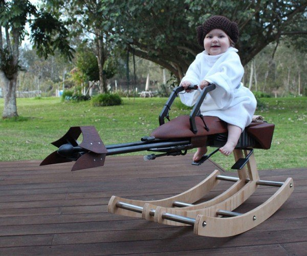 DIY Speeder Bike Rocker: Back and Forth of the Jedi