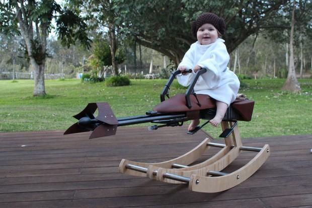 DIY Speeder Bike Rocker: Back and Forth of the Jedi