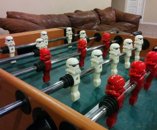 DIY Stormtrooper Foosball Table: Empire FC