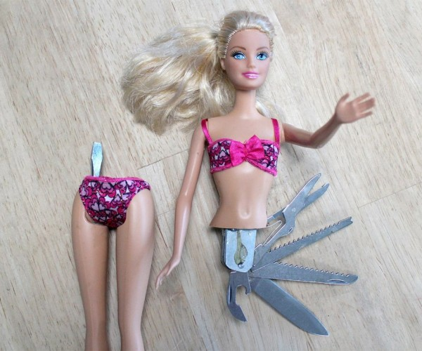 The Swiss Army Barbie Doll Will Get You Detained by the TSA