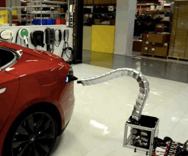 Tesla's Robot Snake Charger: Why Did It Have to Be Snakes?
