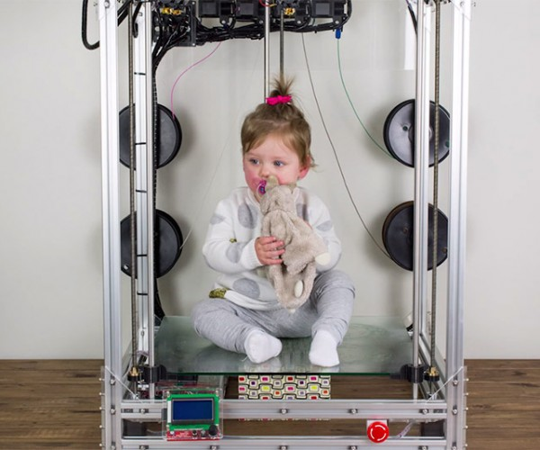 The Beast Large Format 3D Printer: Attack on Tight Times