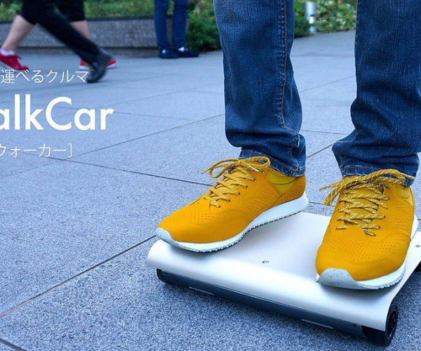WalkCar Personal Transport: Haul-U