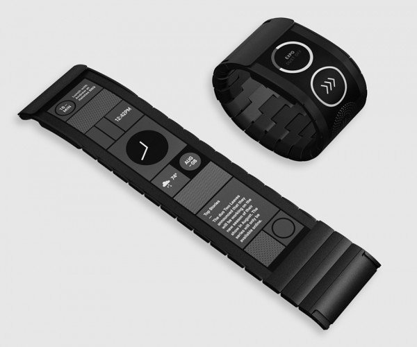 Wove Band Flexible E-ink Smartwatch: Flexitime