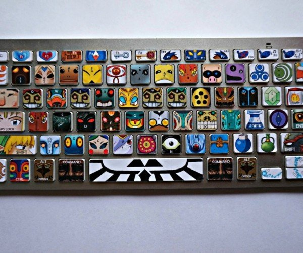 Legend of Zelda Villains Keyboard Decals: It\