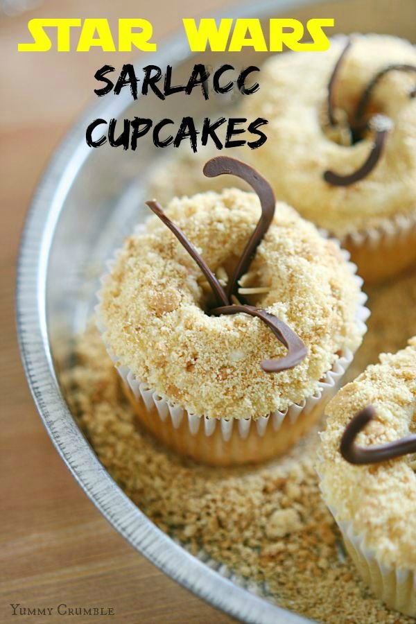 Return of the Jedi Sarlacc Cupcakes: Tasty Tentacles
