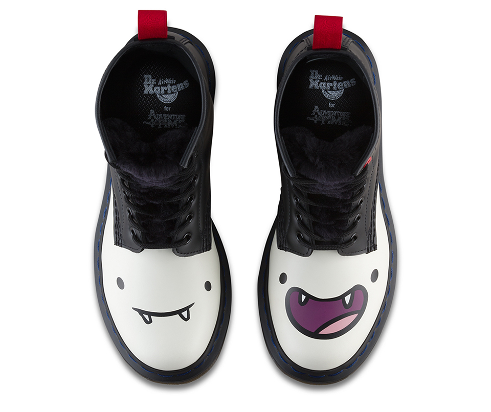 fe8bb4d3945d86 Dr. Martens Adventure Time Marceline Boot  Half-Demon