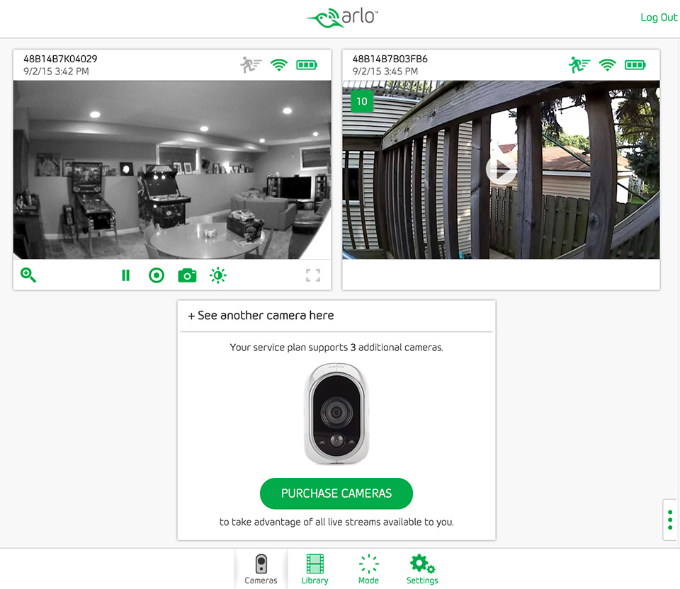 review  netgear arlo wireless home security monitoring system