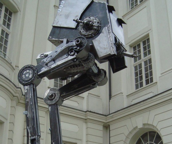 Own This Life Size Metal Star Wars AT-ST