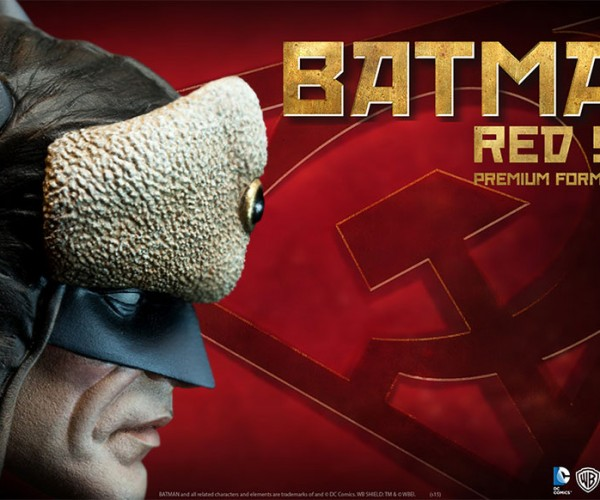 Batman Red Son Figure Has Fuzzy Russian Hat Ears