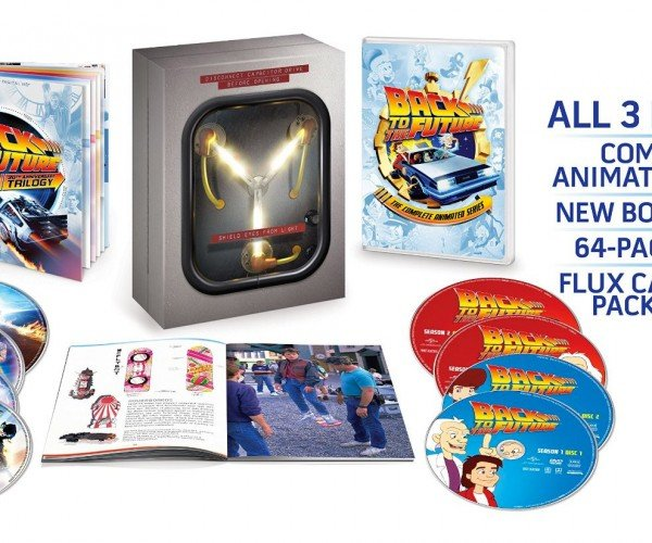 Back to the Future Blu-ray Box Set Includes New Doc Brown Short