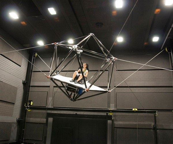 CableRobot Motion Simulator: Where We're Going, We Don't Need Treadmills