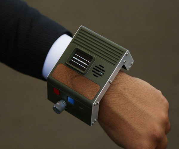 DIY Wristwatch Phone: Watchie-Talkie