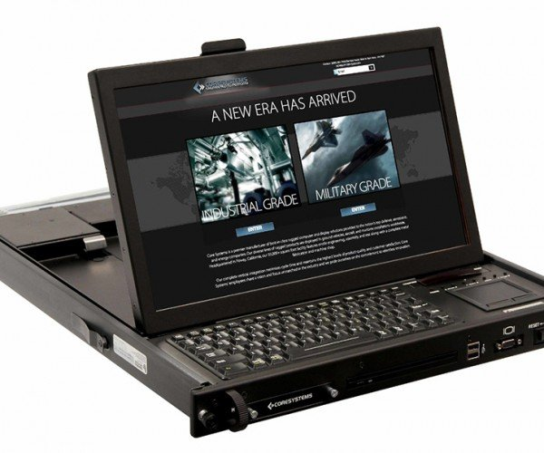 Core Systems All-in-One 1U-size Rack Computer: Servertop