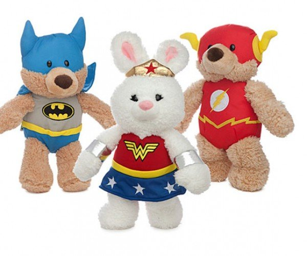 DC Comics Teddy Bears: Plushtice League