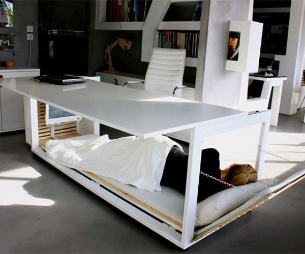 Nap Desk is Perfect for Those Who Live at Work