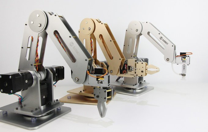 Dobot high precision desktop robot arm there is no trybot Motor for robotic arm