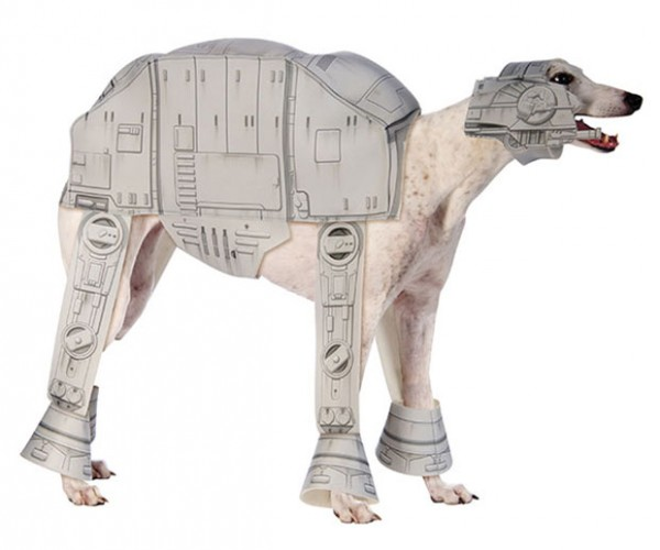 AT-AT Dog Costume: Dress Your Cat as a T-47 Airspeeder