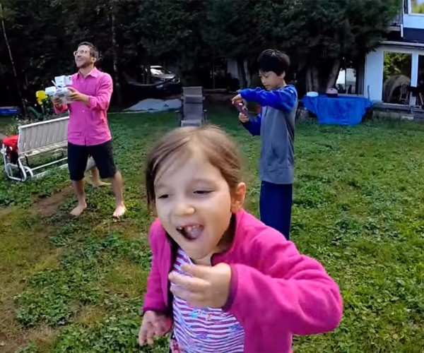 Girl Gets Tooth Pulled out by Drone
