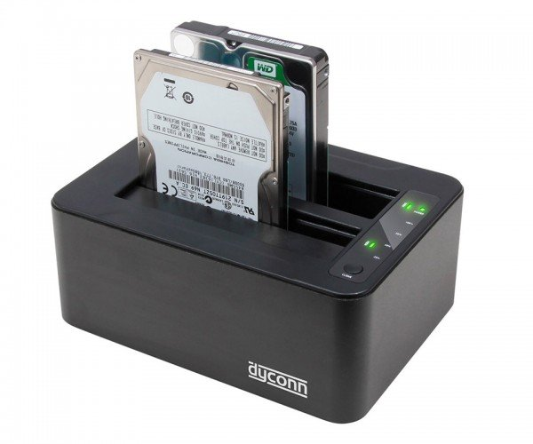 Deal: Save 20% on the Dubbler Dock Pro 2-Bay Hard Drive Cloning Dock