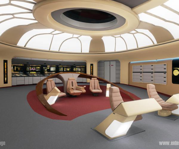 Star Trek: TNG Enterprise VR Tour Is Insanely Detailed