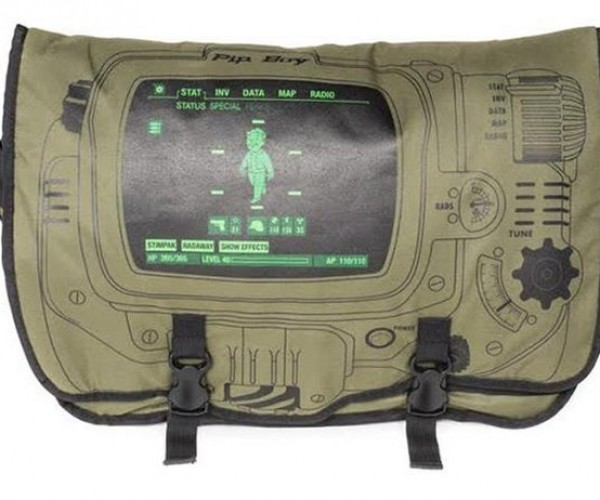Fallout 4 Pip-Boy Messenger Bag: It's Rad(s)