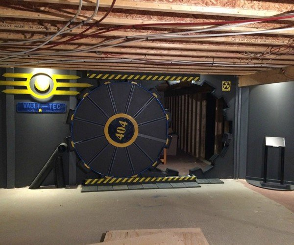 DIY Fallout Vault Door: A Pre Nuclear Role Playing Structure