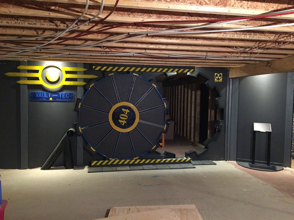 DIY Fallout Vault Door A Pre Nuclear Role Playing