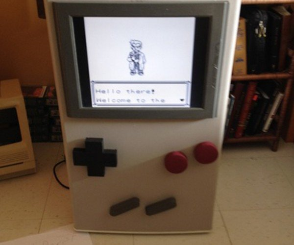Game Boy Refrigerator Mod: Now You're Playing with Freon