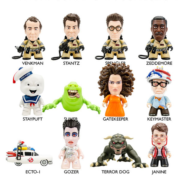 Ghostbusters Titans Vinyl Figures Feature The Entire Gang
