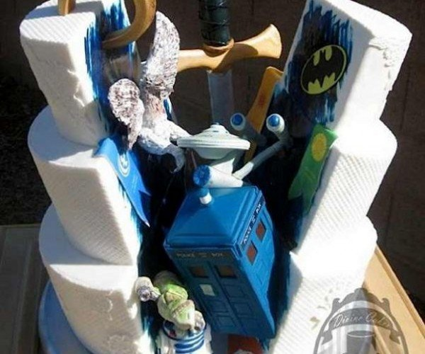 This Wedding Cake Is a Geek Explosion
