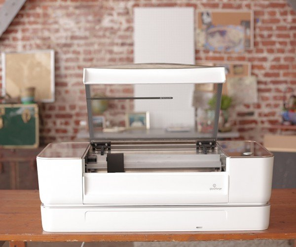 Glowforge Laser Cutter: Make-A-Sketch