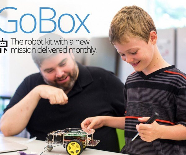 GoBox Raspberry Pi Robot Subscription Kit: Maker 1