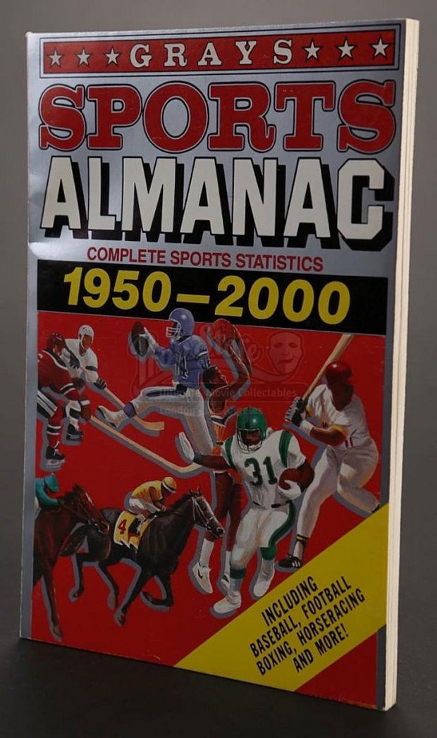 Back to the future ii sports almanac sells for 7 000