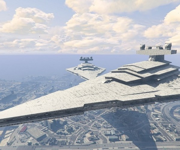 Grand Theft Auto V PC Mod Puts a Star Destroyer In Los Santos