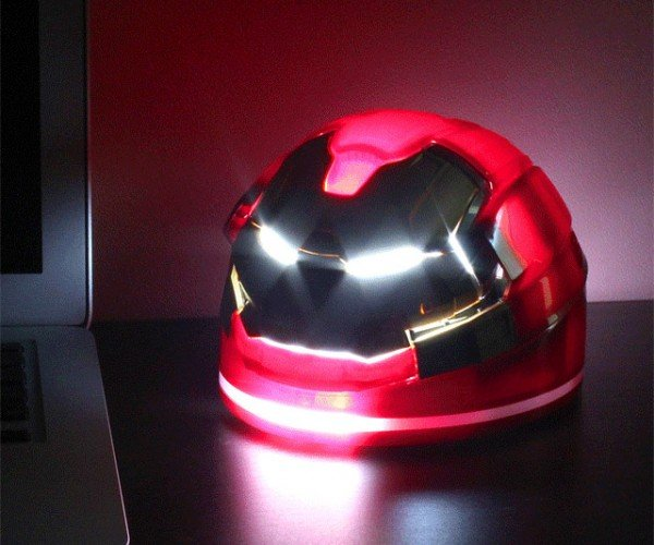 Hulkbuster Desk Lamp: Light as Iron