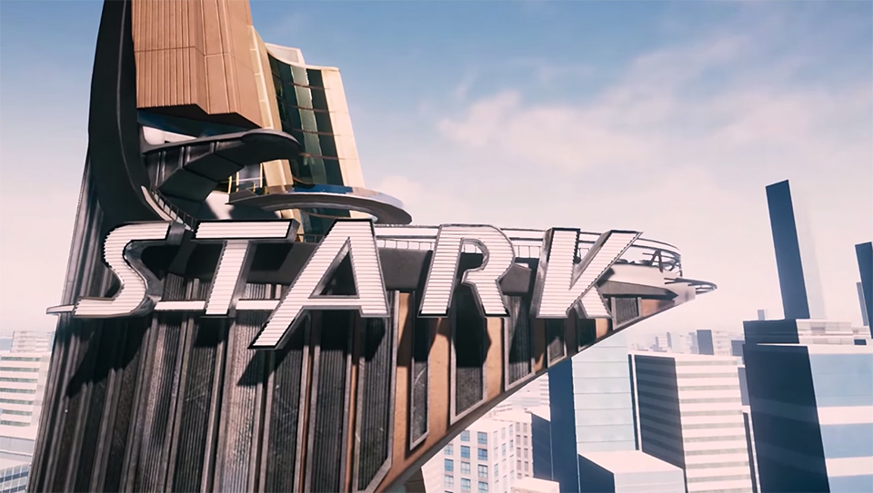 Stark Tower Virtual Reality Tour Headsets Assemble