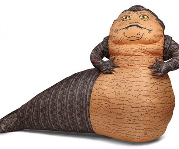 Inflatable Jabba the Hutt Will Make You its Slave