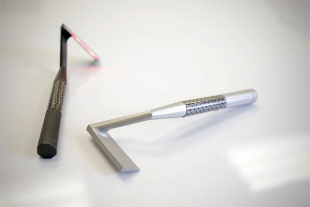 Skarp Laser Razor Never Needs Blades and Won't Nick Your Kiwis - Technabob
