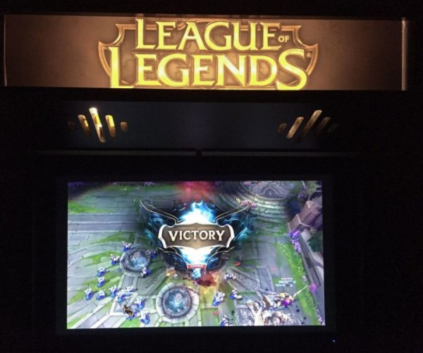 League of Legends Arcade Cabinet Melds '80s Tech with RPG Action
