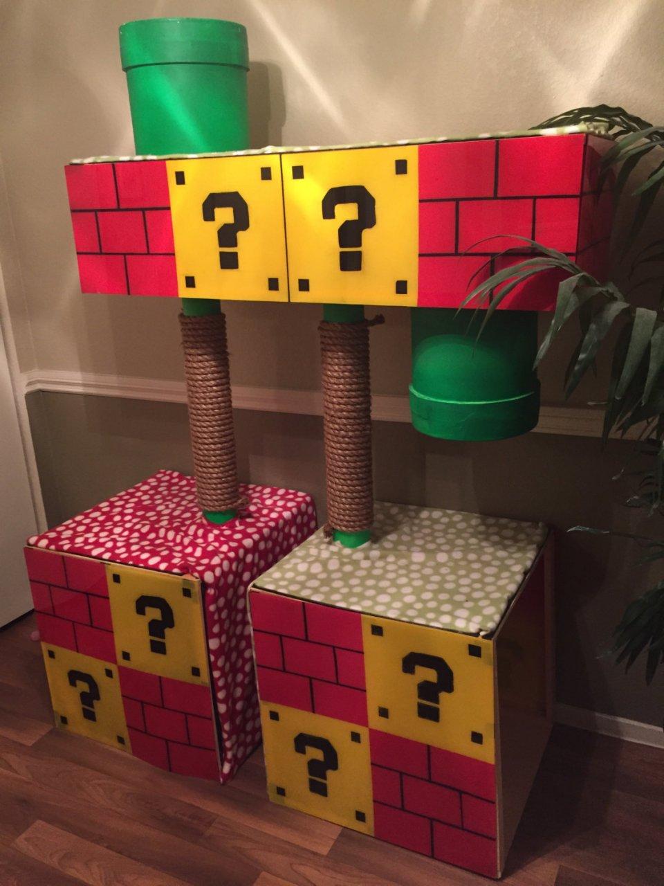 Super Mario Bros  Cat Treehouse: Scratch World 1-1