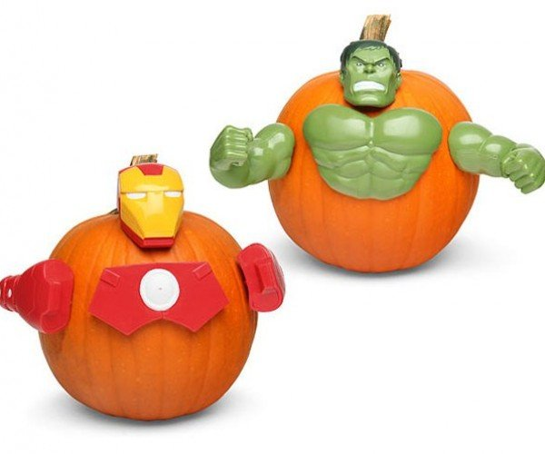 Marvel Pumpkin Push-In Kit: Gourds Assemble!