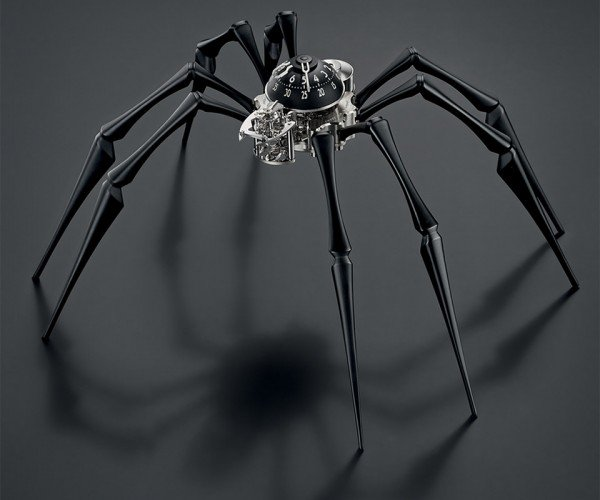 Killing Time Takes on a New Meaning with the Arachnophobia Timepiece