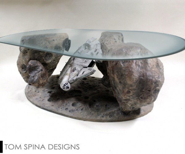 Millennium Falcon Asteroid Chase Coffee Table: Never Tell Me the Cost