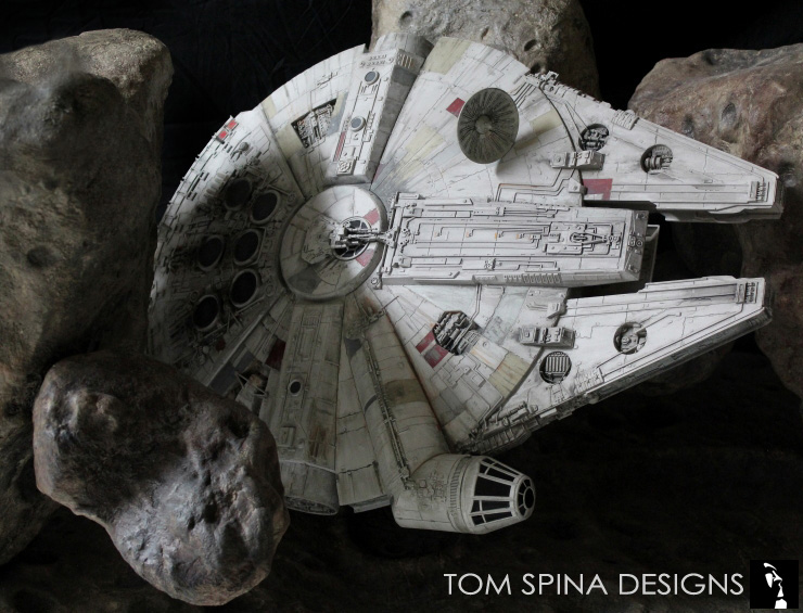 Millennium Falcon Asteroid Chase Coffee Table Never Tell