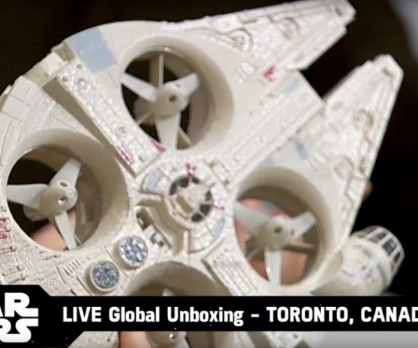 Millennium Falcon and X-Wing Drones Arrive for Force Friday
