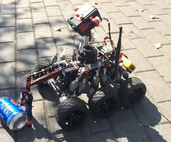DIY Moon One RC Rover: Wall-E's Sleazy Grandpa