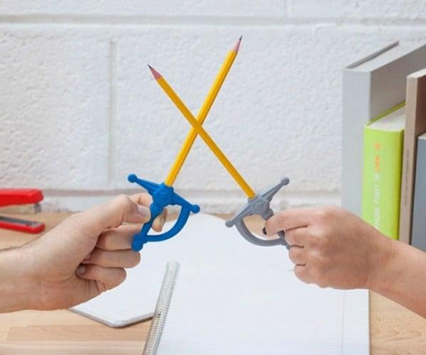 Pencil Sword Eraser: The Pencil Is Mightier